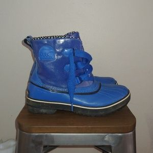 Sorel waterproof boots Tivoli Blue Dot NL1961-409